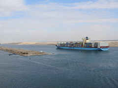 North South Transit Of Suez Canal