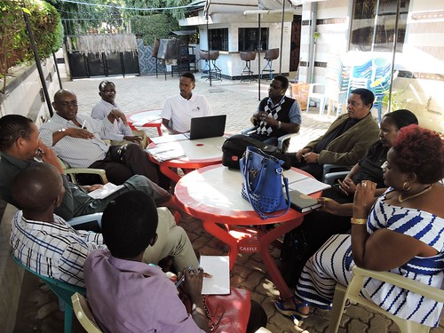 MoreMilkiT project staff meeting with district technical officers