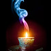 Candle in the Wind (Smoke Art #674) by Psycho_Babble