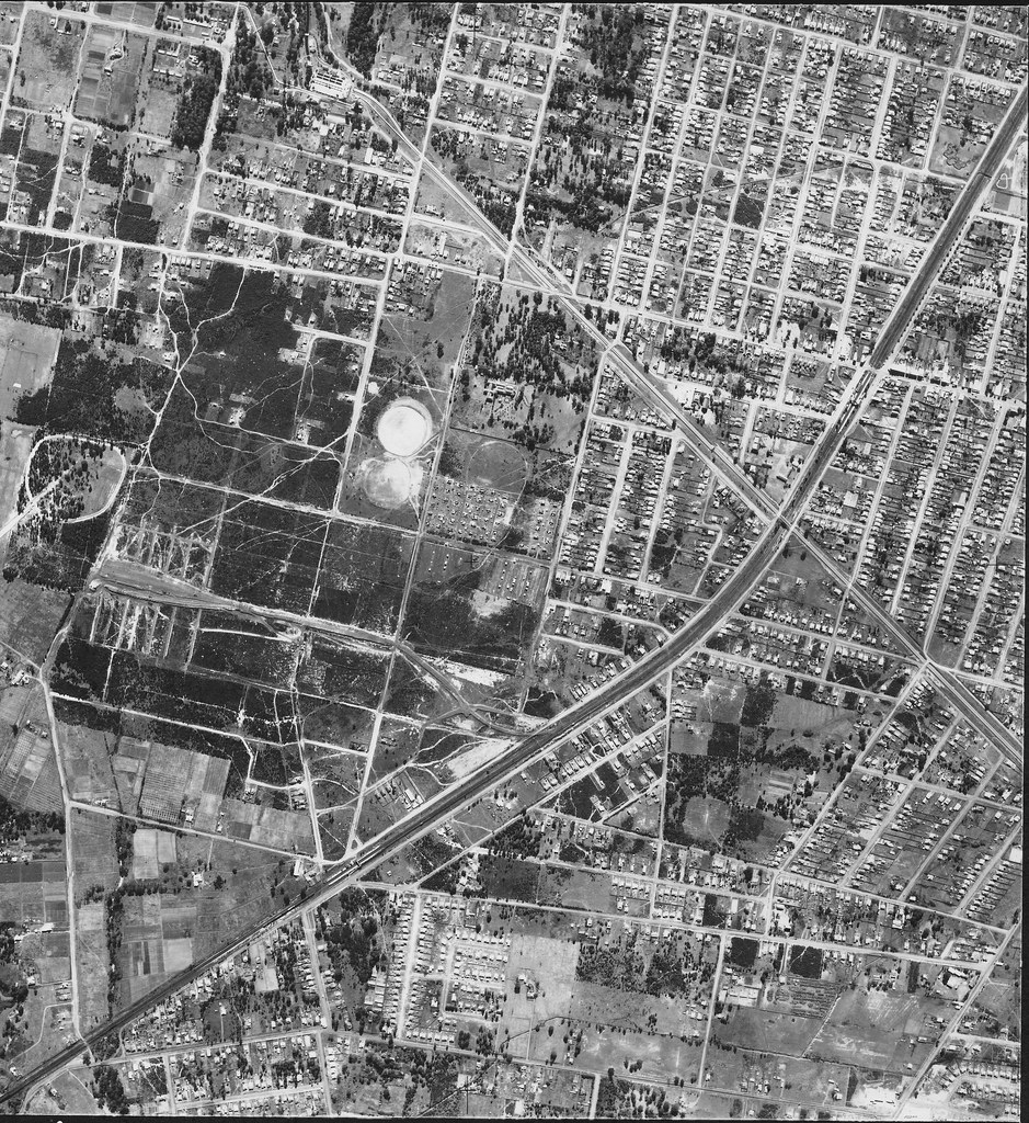 Guildford & Yennora 1951 - Sydney airphoto