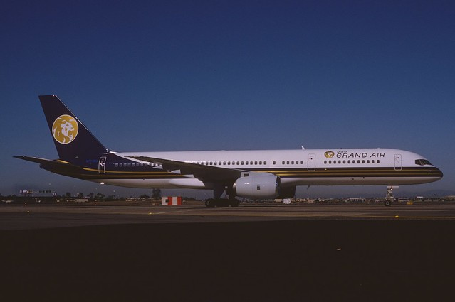 MGM Grand Air Boeing 757-225; N701MG, October 1992