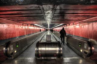 "Station RERA ""Auber"" - Dark passenger"