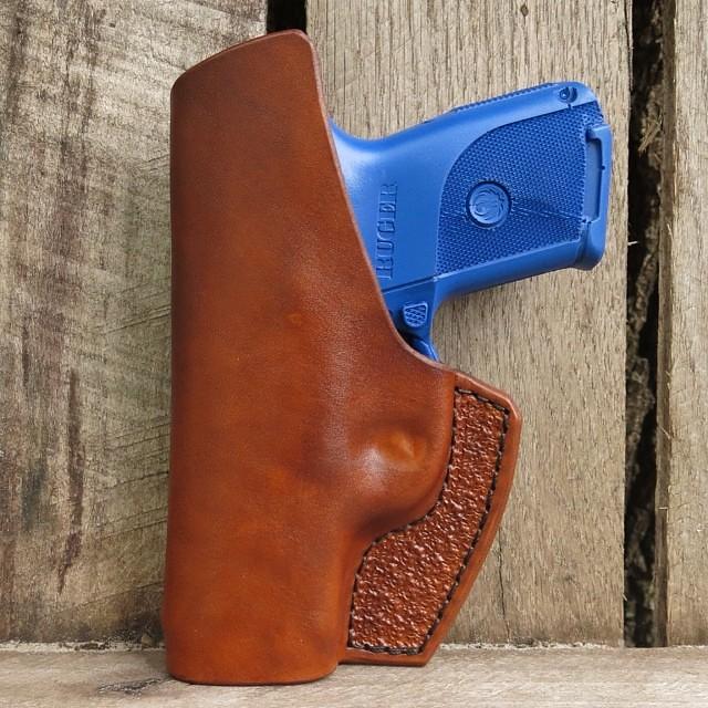IWB Holster for Ruger SR9c in Light Brown Cowhide #ruger #… | Flickr