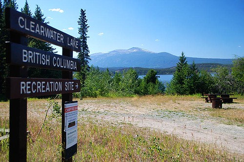 Clearwater Lake Recreation Site, Kleena Kleene, Chilcotin, British Columbia