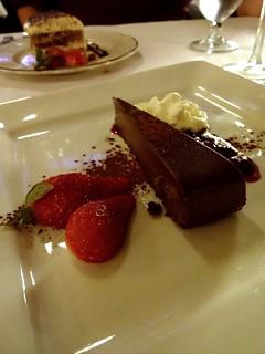 Water Street Cafe (Gastown Vancouver) - Flourless Chocolate Cake & Tiramisu