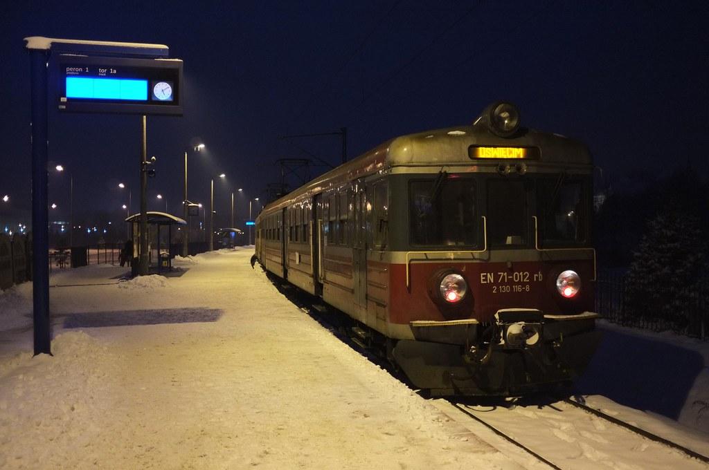 27/365: Evening train