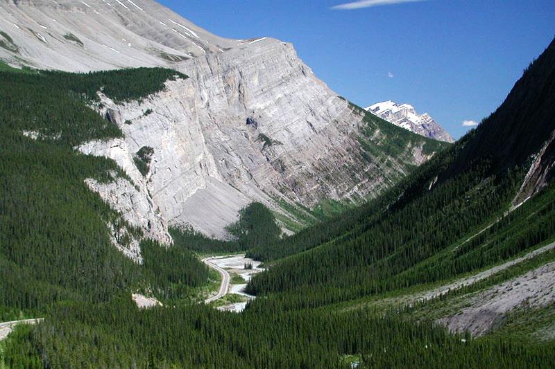 Landscape near Lake Louise, Alberta, Canada