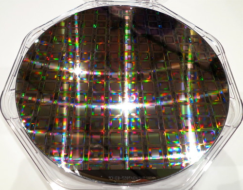 Hot off the press — the latest D-Wave wafer of quantum processors and TIME cover story | by jurvetson