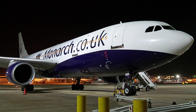 Monarch Airlines - G-OJMR - London Gatwick (EGKK/LGW)