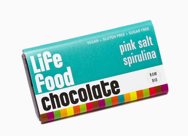 Pink Salt Spirulina Mini Chocolate