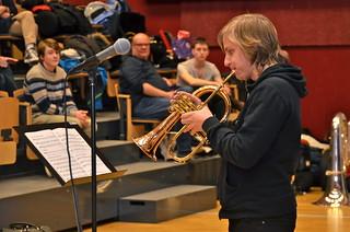 David Karlsson spelar Brudmarsch från Jämtland