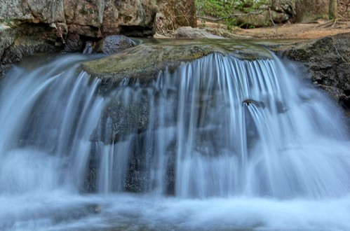 longexposure water creek waterfall al birmingham rocks stream alabama hike preserve mossrock mossrockpreserve