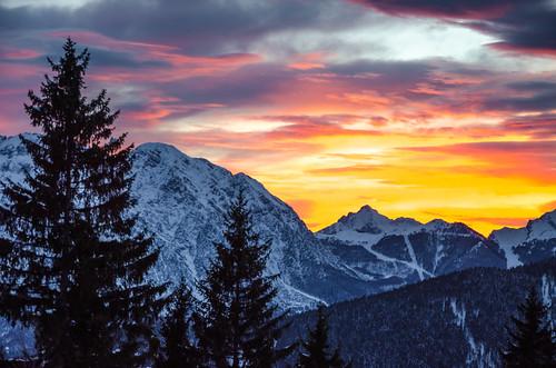 trees winter sunset italy snow mountains alps cold clouds montagne nikon italia day cloudy snowy valle monte peaks alpi orobie bergamo lombardia lombardy avaro brembana pianidellavaro d5100