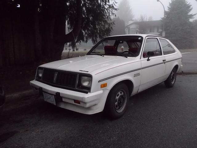 1986 Pontiac Acadian 'Scooter'