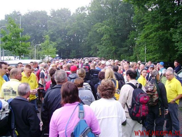 1e dag Amersfoort  40 km  22-06-2007