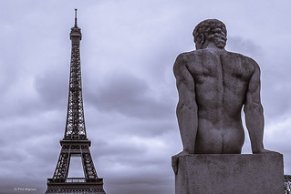 Eiffel Tower gazing - Paris | by Phil Marion (177 million views - THANKS)