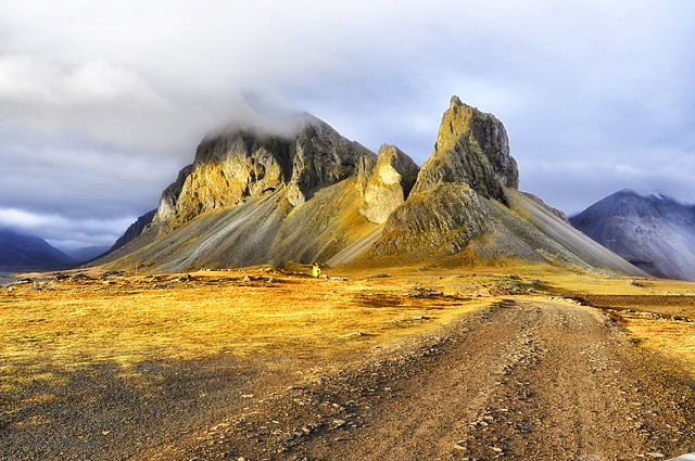 Leading to nowhere,Iceland