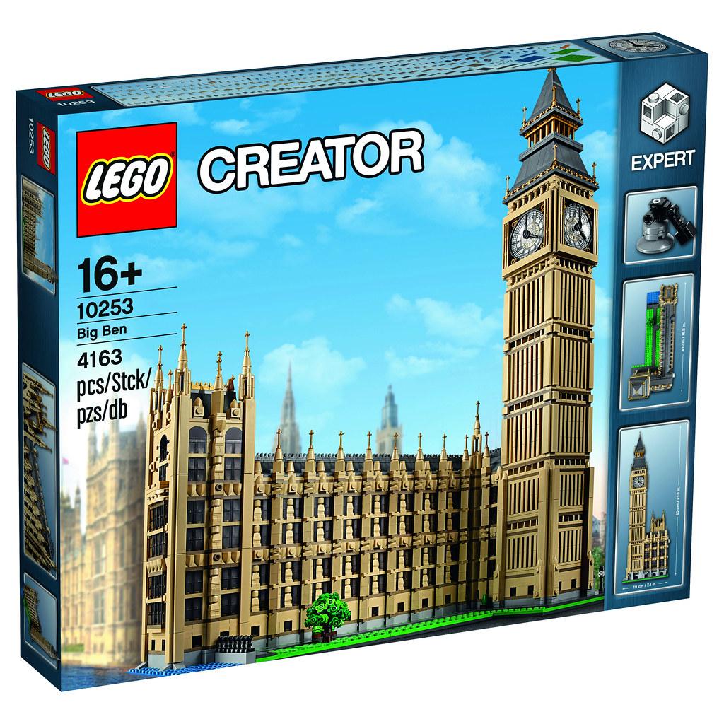 Lego Creator Expert 10253 Big Ben Release July 2016 Pie