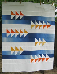 Fly By Baby Quilt Top