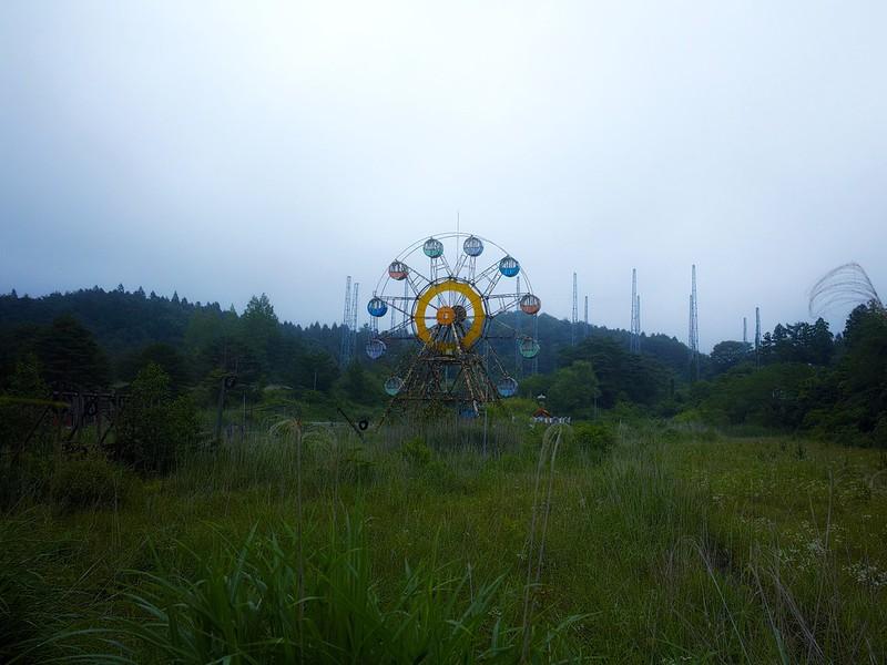 """化女沼レジャーランド abandoned amusement park """"Kejonuma Leisure Land"""""""