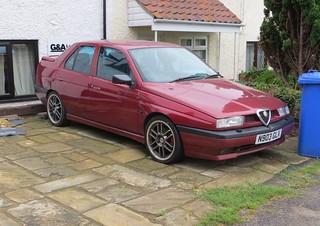 1996 Alfa Romeo 155 V6 | by Spottedlaurel