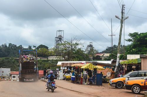 Obuasi, home of AngloGold Ashanti | by jbdodane