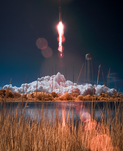 Antares Rocket With Cygnus Spacecraft Launches | by NASA Goddard Photo and Video