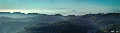 india mist fog sunrise bluemountains panaroma hillstation thenilgiris