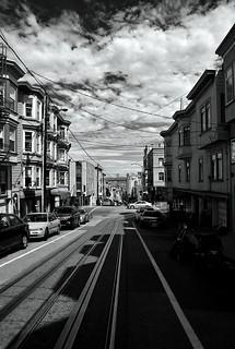 San Fran- Following the trolly