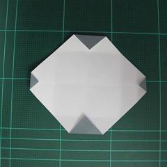 วิธีพับกระดาษเป็นรูปลูกสุนัข (แบบใช้กระดาษสองแผ่น) (Origami Dog) 017