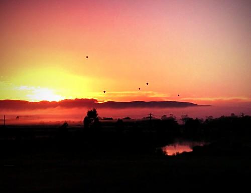 sunrise yarraglen airballons nexus5 flickrandroidapp:filter=orangutan