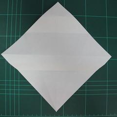 วิธีพับกระดาษเป็นรูปปลาแซลม่อน (Origami Salmon) 012