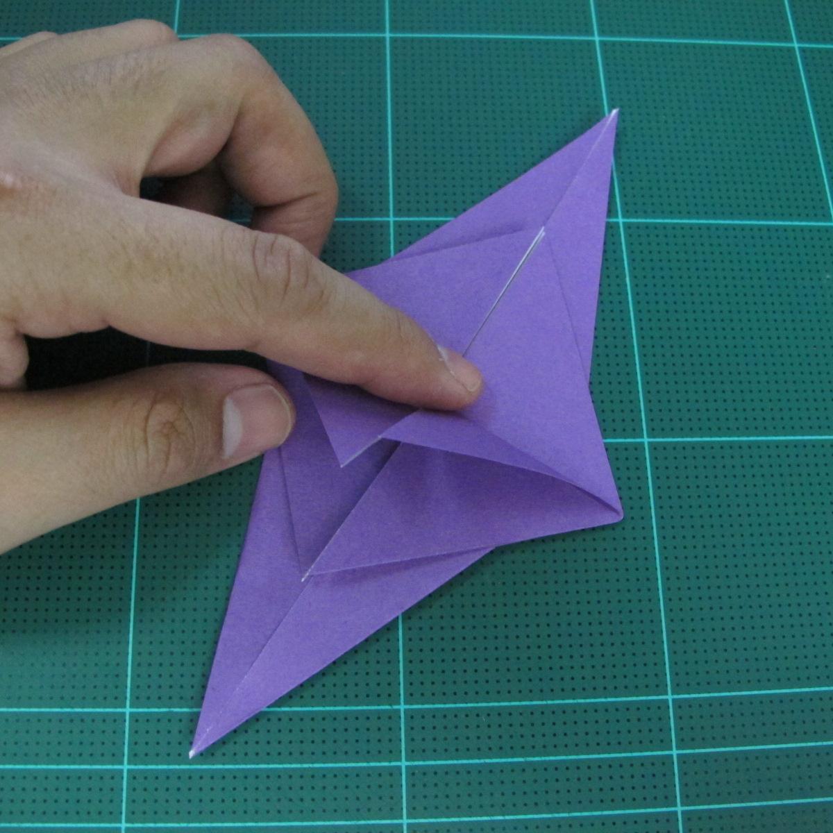 วิธีพับกระดาษเป็นรูปนกอินทรี (Origami Eagle) 001