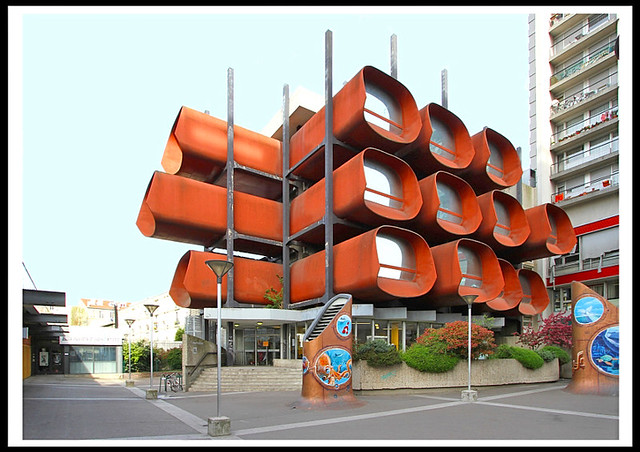 Conservatoire de musique et de danse [1968-76]- Montreuil