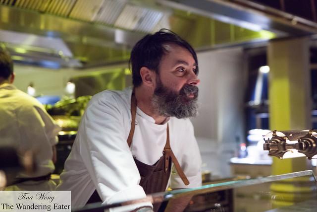 Executive Chef Nuno Mendes