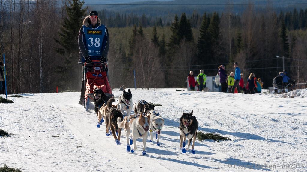Amundsenrace 2015 - start