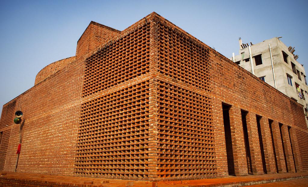 Baitur Rauf Jame Mosque in Dhaka, Bangladesh by Marina Tambassum