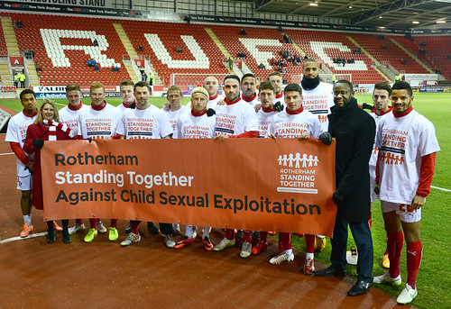 Millers' players backing Rotherham Standing Together | by Emma Hoddinott