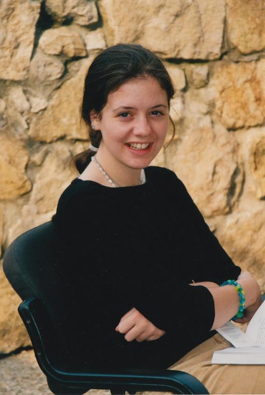 Hermana Clare sonriendo - 2001