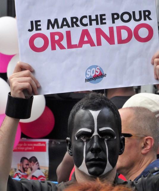 Je marche pour Orlando