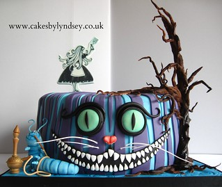 alice In Wonderland cake | by Cakes by Lyndsey
