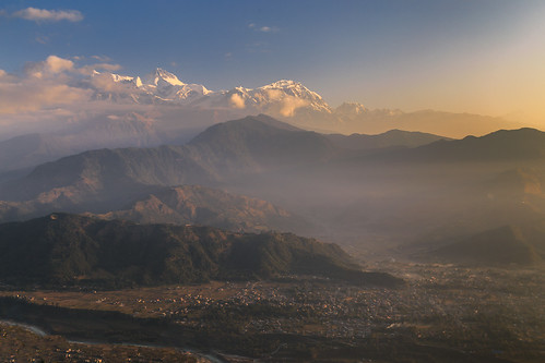 2013 annapurna annapurnaii annapurnaiv annapurnarange himalaya mountains nepal pokhara pokharavalley sarangkot clouds dawn daybreak fog foggy lightrays morning mountainrange peaks scenic scenicview snowcap sunrays sunrise sunshine weather