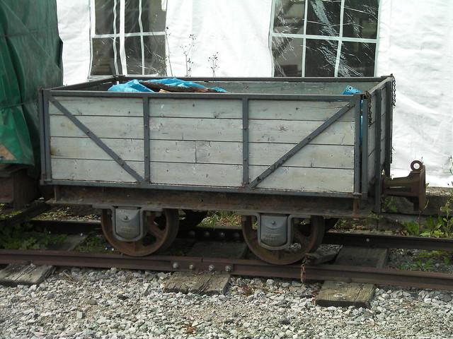 Hudson 4 wheel open wagon, East Anglia Transport Museun 14 08 2011 (1)