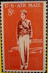 Amelia Earhart Stamp (1963)