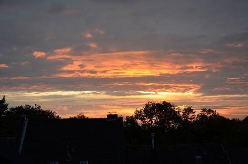 sky clouds sunrise dark himmel wolken sonne sonnenaufgang dunkel
