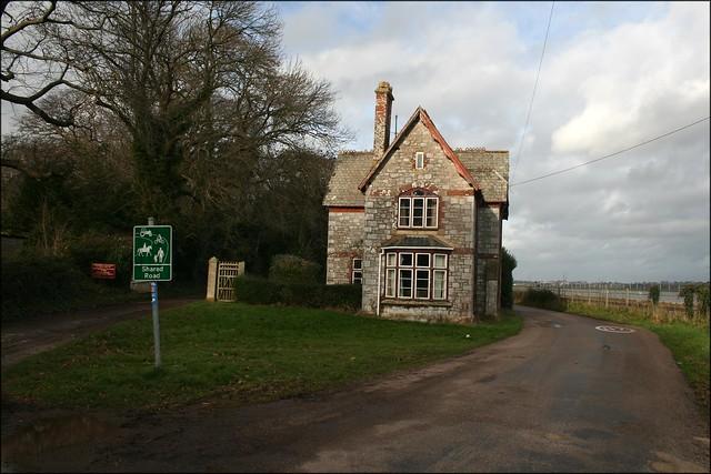 Powderham gate house