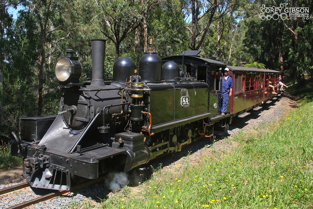 Puffing Billy Railway - 8A by Corey Gibson