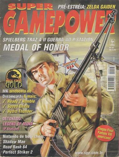 Super Gamepower n.67 - capa