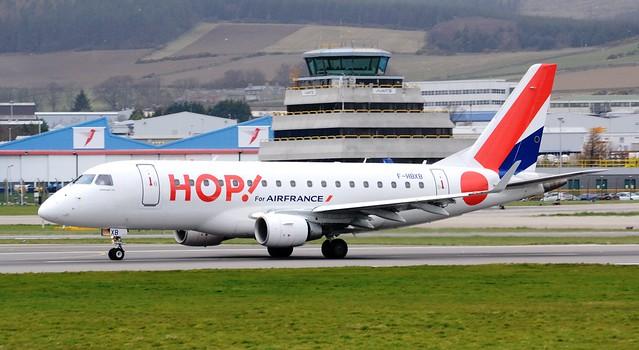 Hop! Embraer ERJ-170-100 ERJ-170 F-HBXB