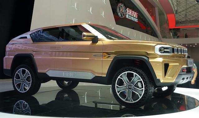 Beijing - BAIC BJ100 Concept SUV